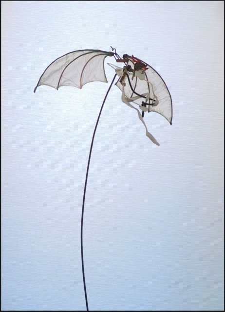 Jean-Yves Verne - Icare lesté, (sculpture , détail)