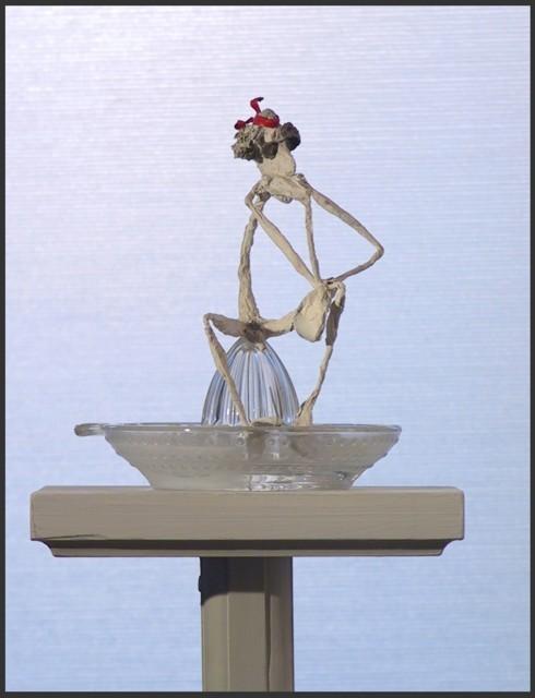 JEAN-YVES VERNE - sculpture - 20 000 lieues sous l'amer - détail