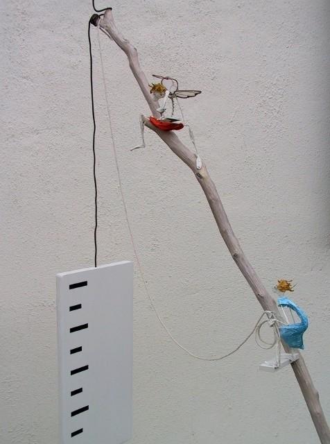 Jean-Yves Verne - sculpture -  de  libero  arbitrio (détail)