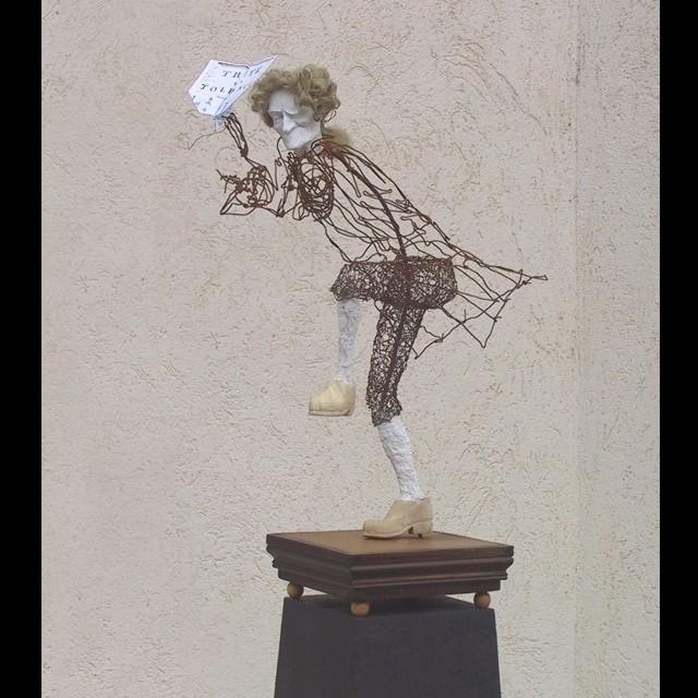 Jean-Yves Verne - voltaire - the spirit of Saint Arouet - détail
