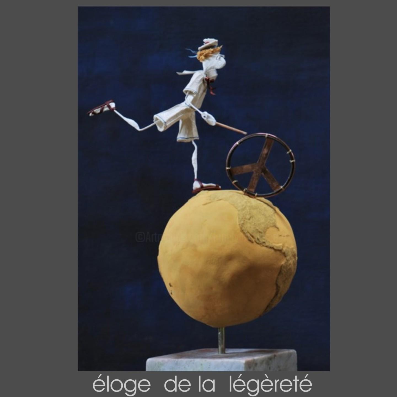 JEAN-YVES VERNE - éloge de la légèreté - sculpture