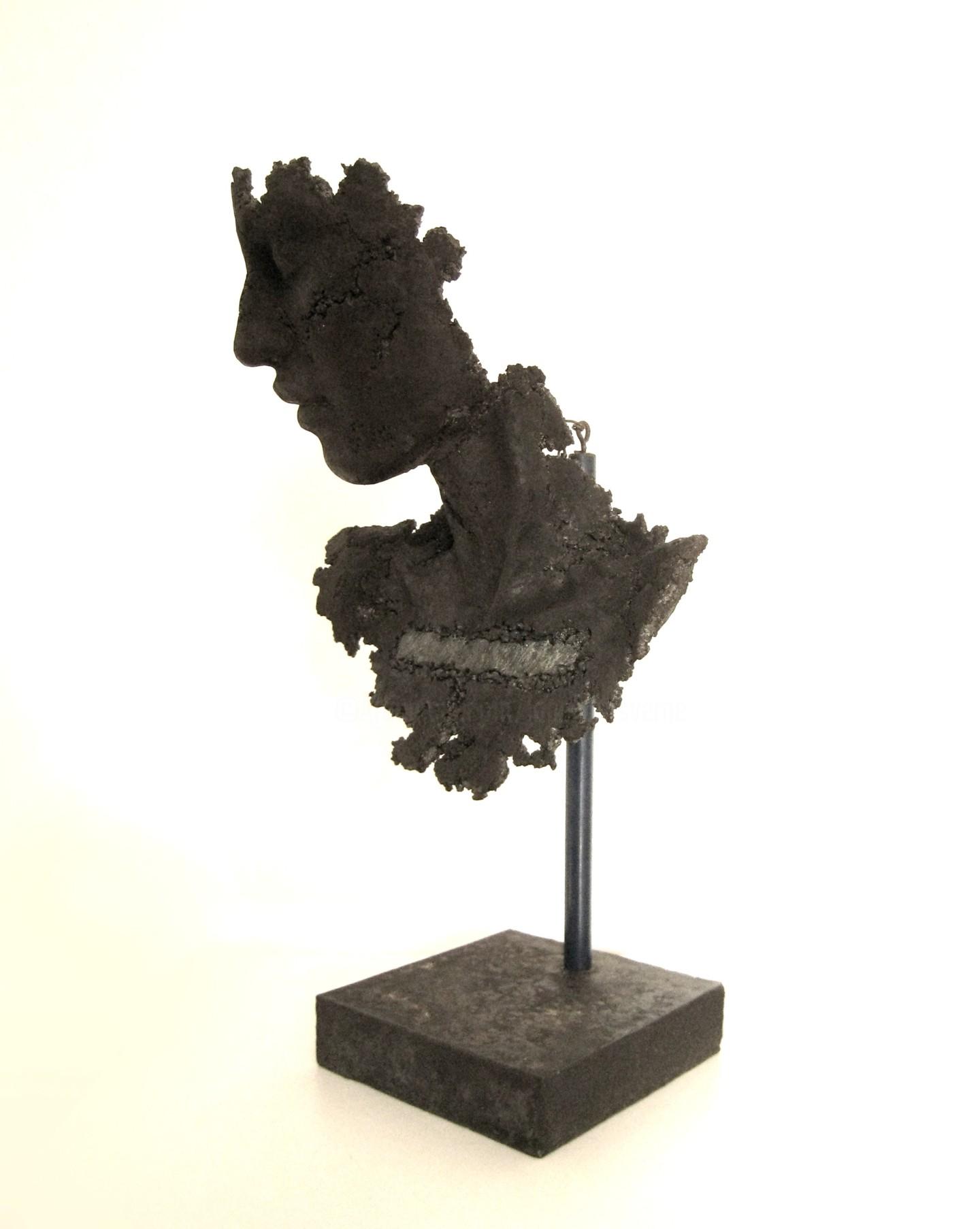 JEAN-YVES VERNE - concrete bust