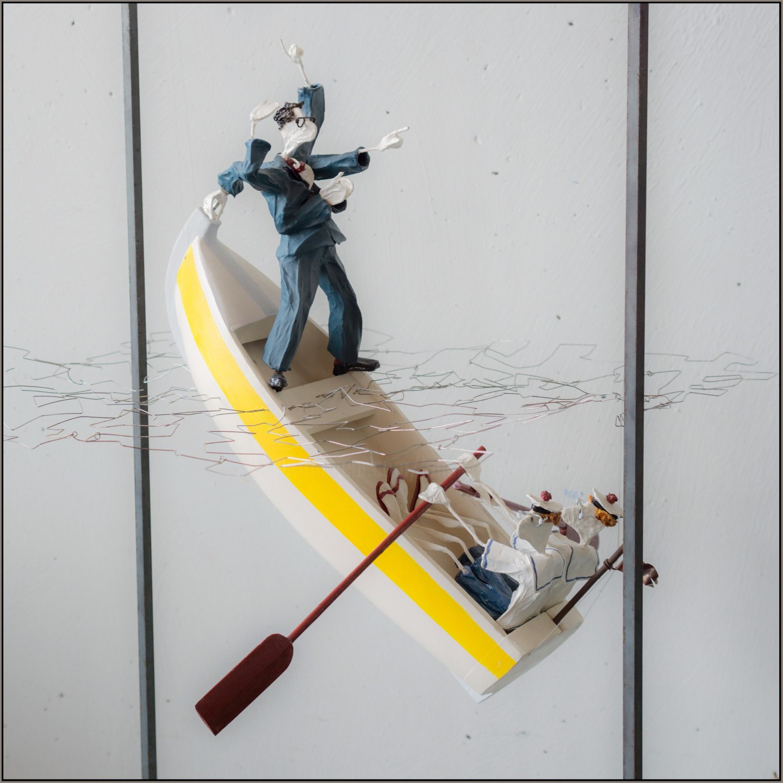 Jean-Yves Verne - installation - bla bla bla , gloo gloo gloo
