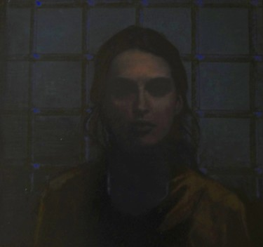 portrait de femme - acrylique