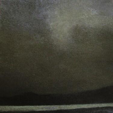 night-landscape-  acrylique sur toile 100 x 100