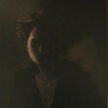 portrait de femme - la lune rousse