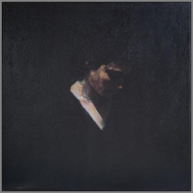 portrait de femme - clair obscur