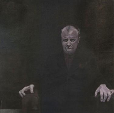 portrait d'homme - acrylique
