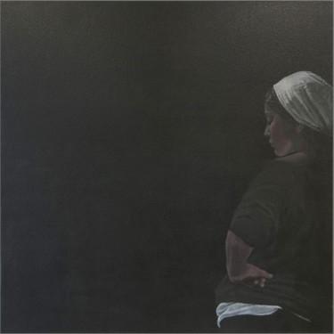 Blackboard- peinture acrylique sur toile