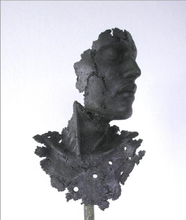 JEAN-YVES VERNE - buste noir