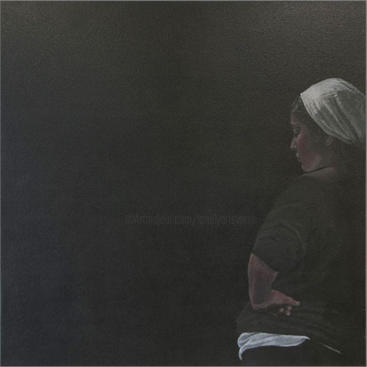 JEAN-YVES VERNE - Blackboard- peinture acrylique sur toile